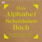 Alphabet-Schablonen-Buch.