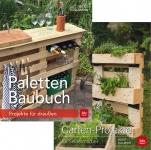 Kreative Garten Projekte mit Paletten.