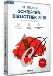 Die große Schriftenbibliothek 2018.