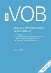 VOB 2016. Gesamtausgabe Teil A, B und C
