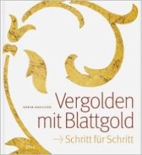 Vergolden mit Blattgold.