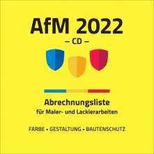 AfM 2022 auf CD-ROM. Passend zum Tabellenbuch!