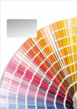 Malerbriefhüllen - C4. Motiv: Farbfächer.