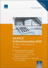 sirAdos Kalkulations-Atlas 2020 für Roh- und Ausbau im Neubau