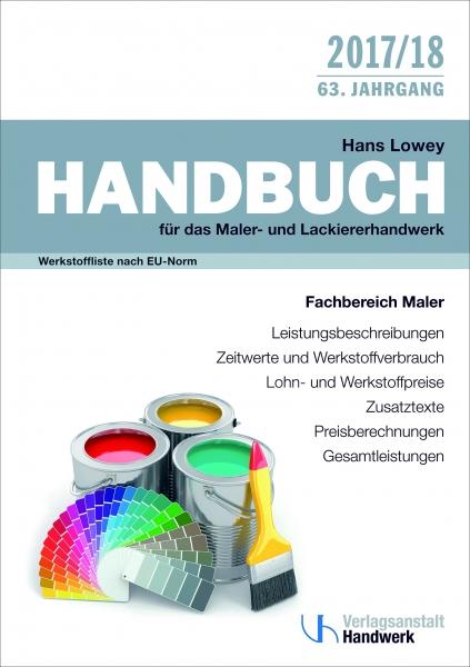 Der Lowey - Handbuch für das Maler- und Lackiererhandwerk!
