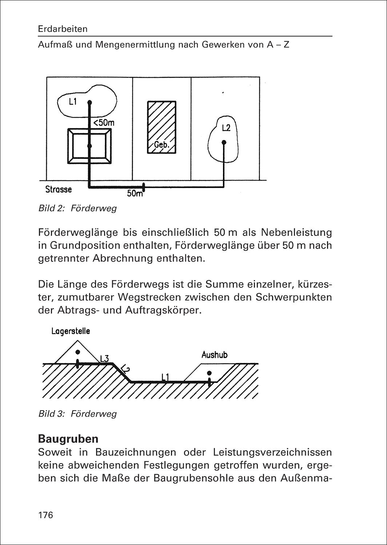 baustellenhandbuch f r aufma und mengenermittlung. Black Bedroom Furniture Sets. Home Design Ideas
