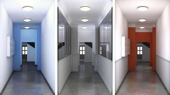 Farbgestaltung Innenraum.  Malerblatt Medienservice