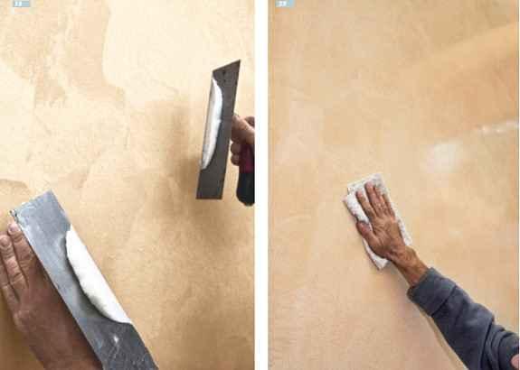 edle putz und spachteltechniken malerblatt medienservice. Black Bedroom Furniture Sets. Home Design Ideas