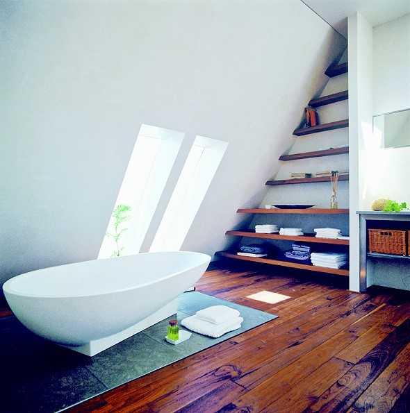 dachausbau sch ner wohnen unterm dach malerblatt medienservice. Black Bedroom Furniture Sets. Home Design Ideas