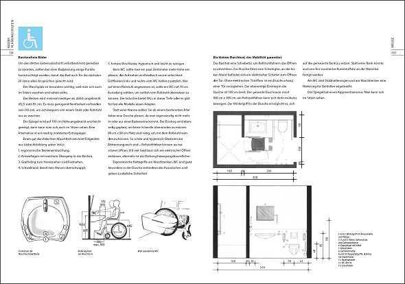 Malerfachbuch b der handbuch zur badezimmerplanung for Badezimmerplanung beispiele