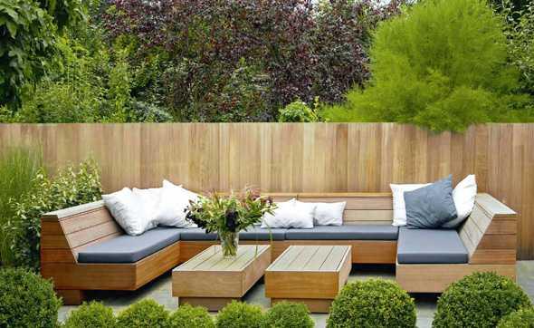sichtschutz im garten modern – rekem, Hause und Garten