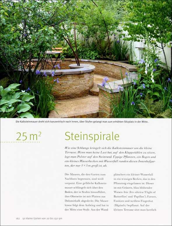 50 kleine g rten von 20 bis 150 qm malerblatt medienservice for Gartengestaltung 20 qm