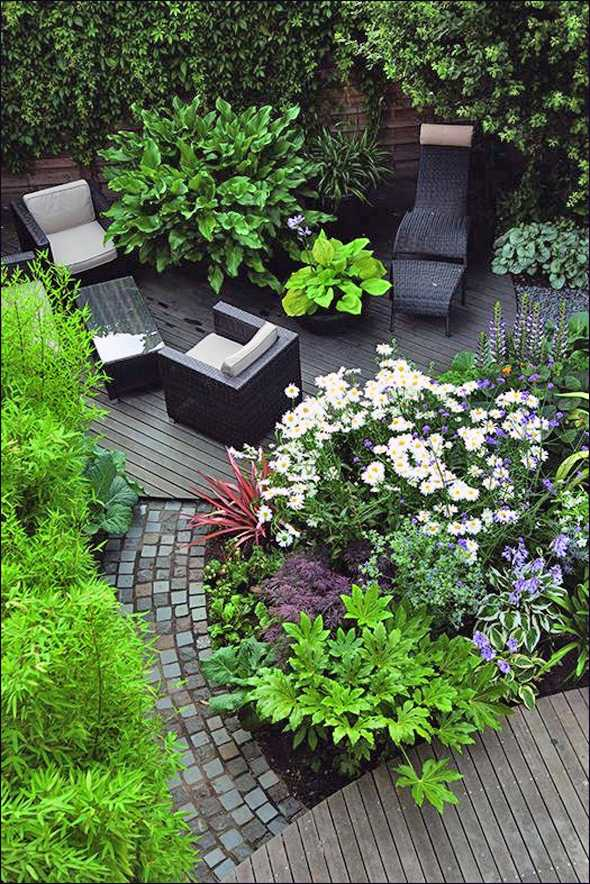 Tiny house design terrassengarten gestalten for Gartenplatz gestalten