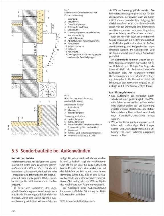 vom altbau zum effizienzhaus malerblatt medienservice. Black Bedroom Furniture Sets. Home Design Ideas
