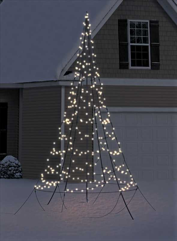 Malerfachbcuh led weihnachtsbaum 3m 360leds for Weihnachtsbaum metall